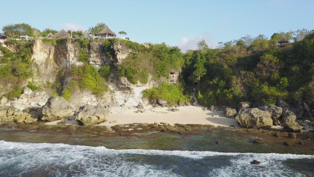 Playa con acceso desde La Joya Biu Biu II