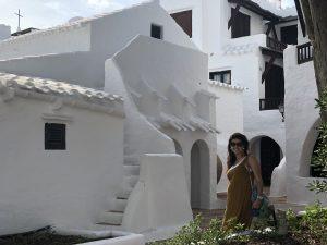 Casas blancas de Binibeca Vell