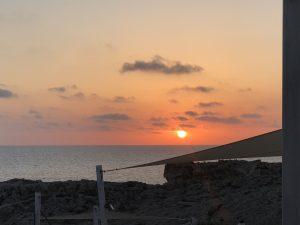 Atardecer en Menorca