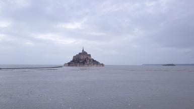 Mont Saint Michel desde nuestro dron