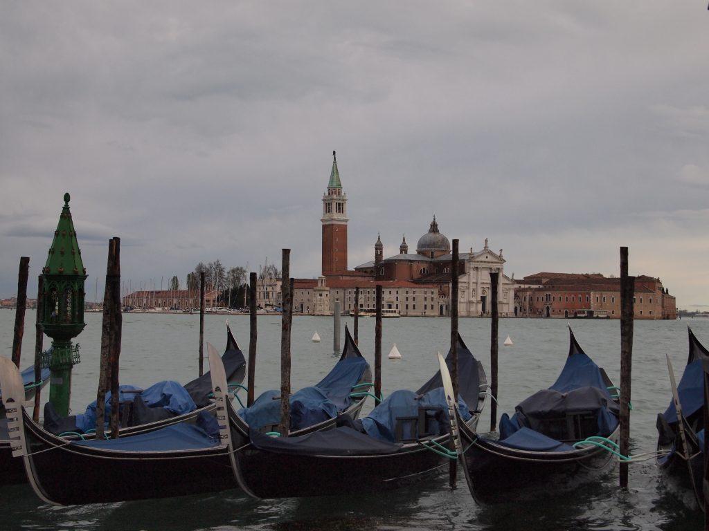 Basílica San Giorgio Maggiore, Góndolas, Venecia