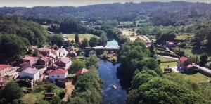 Ponte Maceira desde nuestro dron