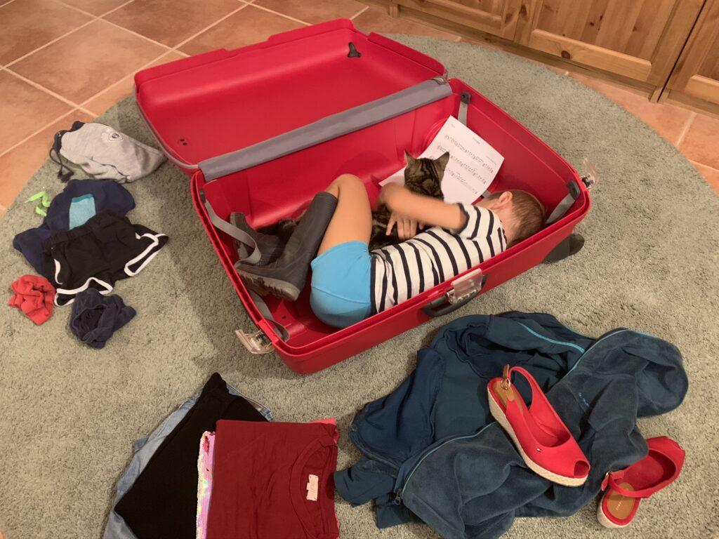Preparativos para el viaje