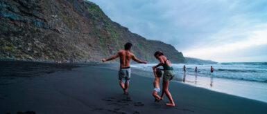 Playa de Nogales en La Palma