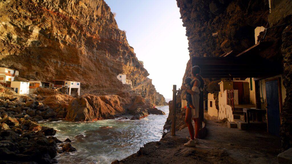 Porís de Candelaria en La Palma